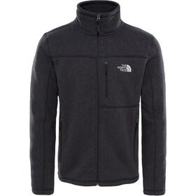 The North Face Gordon Lyons Full Zip Fleece Jacket Men TNF Black Heather
